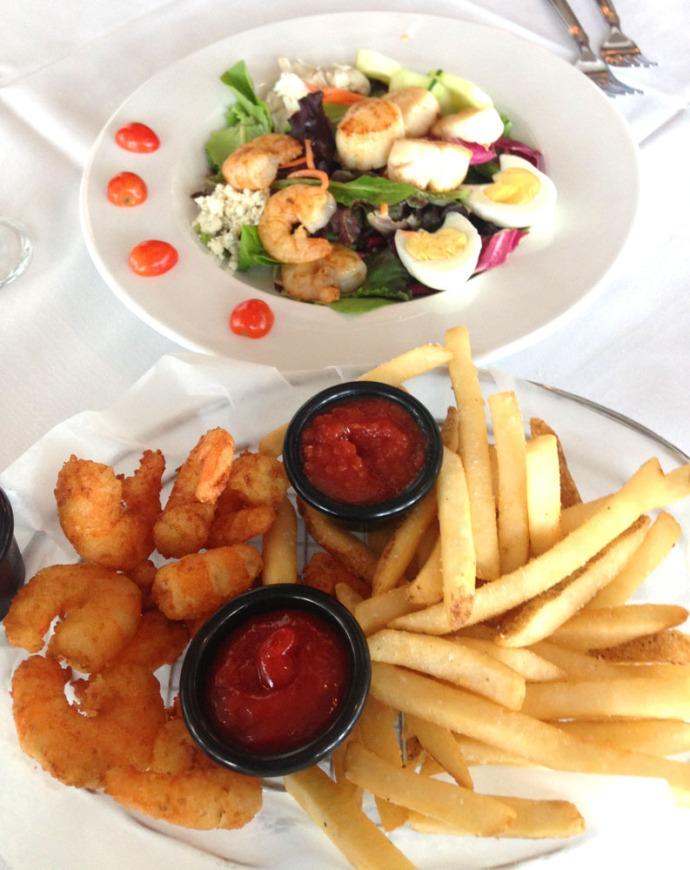 Daufuskie Melrose restaurant food plates