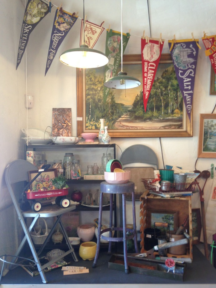 The Grey House Antiques, pennants