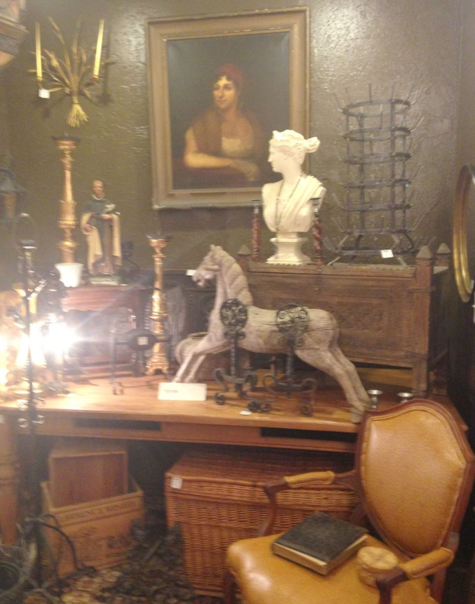 The Grey House Antiques rocking horse