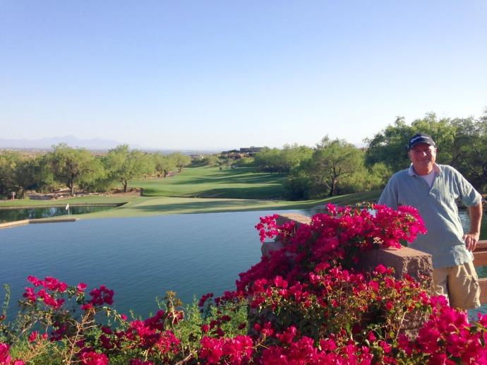 Ventana Canyon Wally at 18th hole