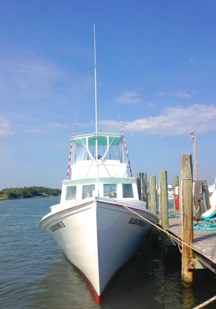 Albatross Fleet, boat front vert