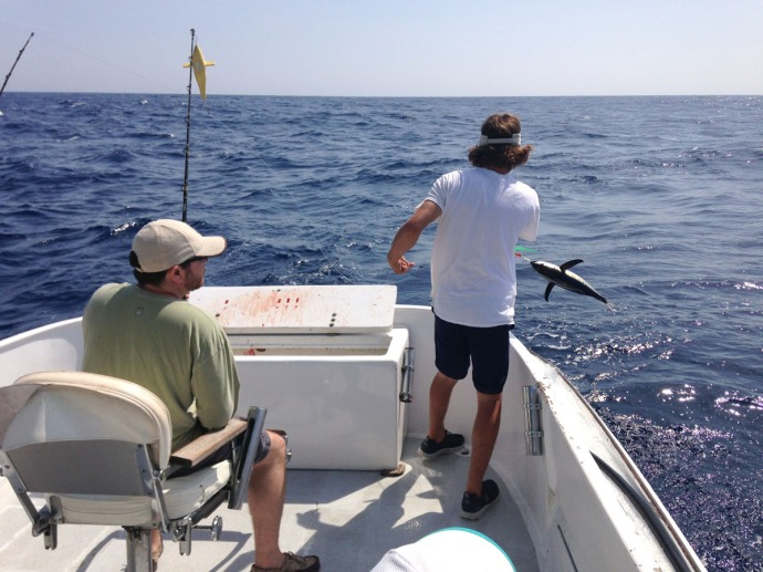 Albatross Fleet, Ilia Sumner tuna flip