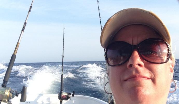 Albatross Fleet, Jamie selfie