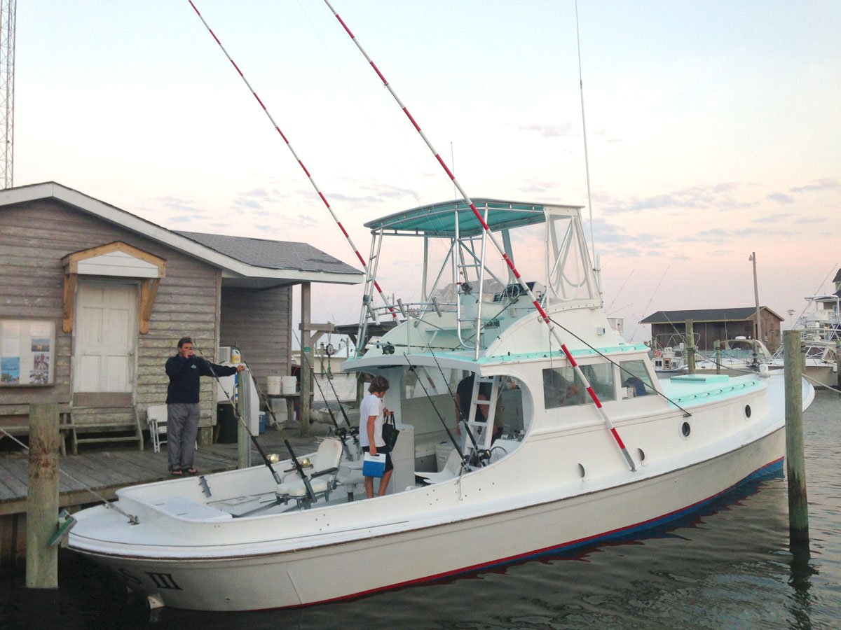 Offshore Fishing With The Albatross Fleet Hatteras Nc