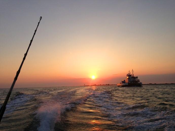 Albatross Fleet, Ocracoke ferry sunrise