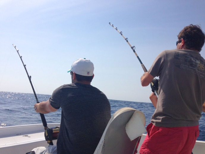 Albatross Fleet, Paul and Mike reeling