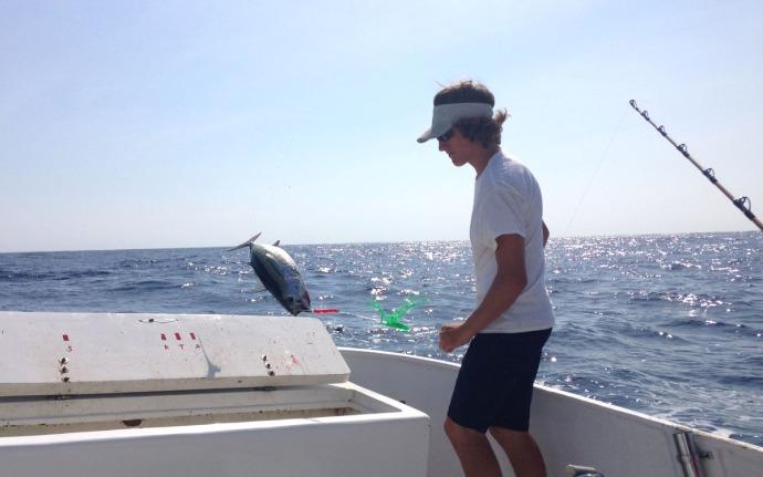 Albatross Fleet, Sumner flipping fish