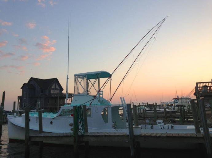 Albatross Fleet, sunrise on boat