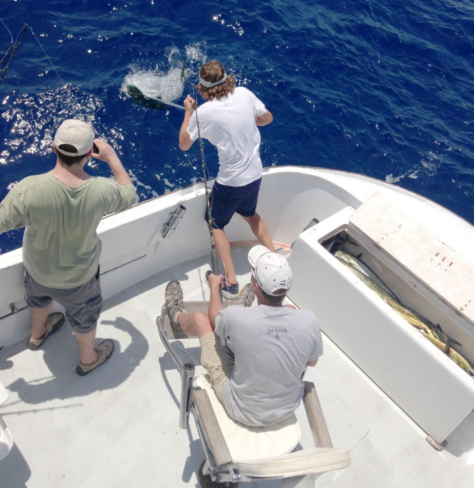 Albatross Fleet, Wally's bull pull in