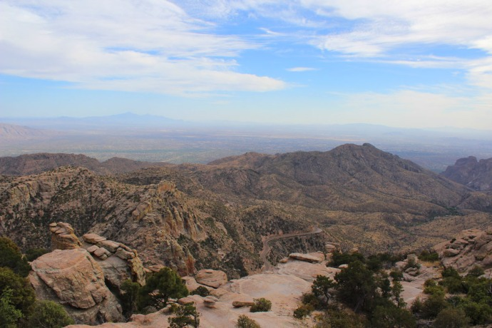 Mt. Lemmon panorama 2