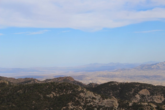 Mt. Lemmon panorama view