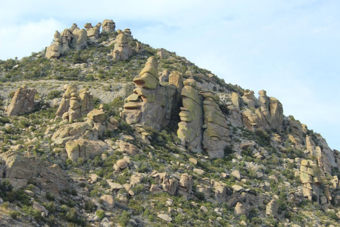 Mt. Lemmon rocky hill