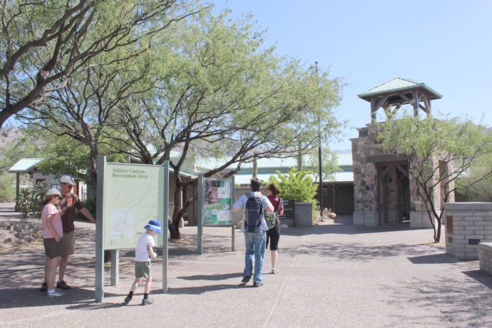 Sabino Canyon visitor center