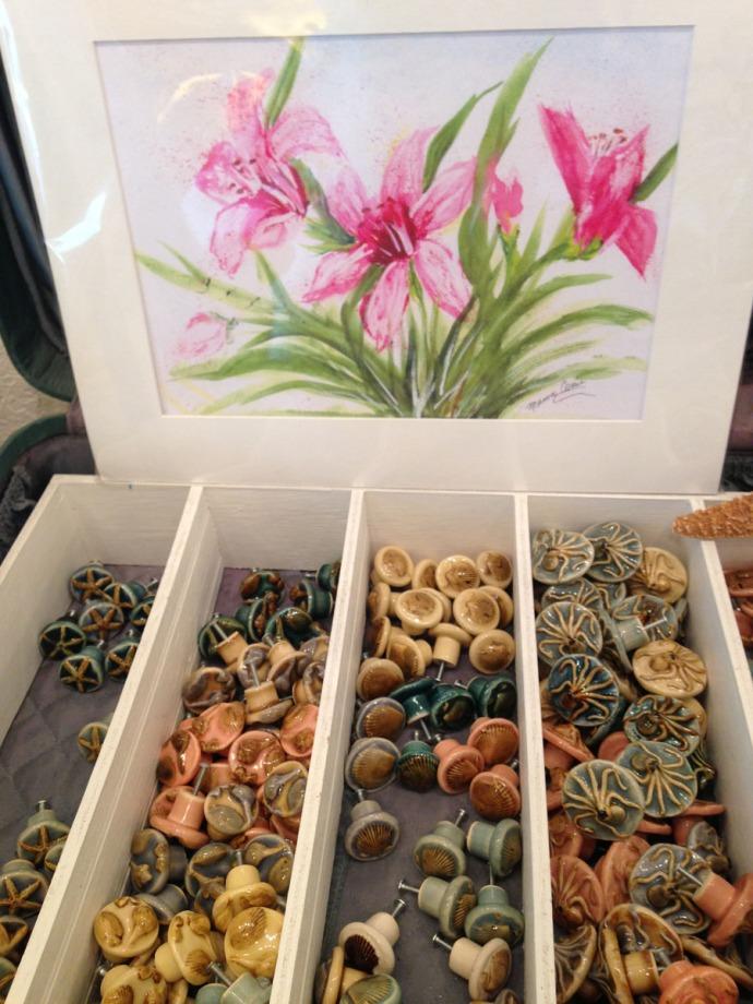 Avon, Kinakeet Clayworks drawer pulls