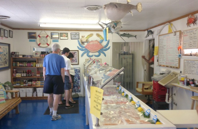 Avon, Risky Business Seafood customers