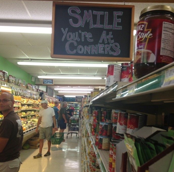 Buxton, Connors smile sign