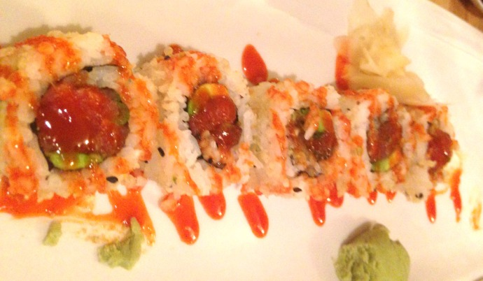 Buxton, Diamond Shoals sushi rolls