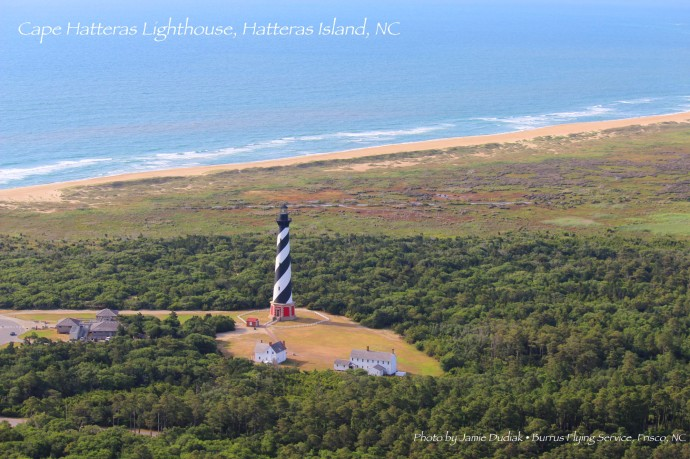 Cape Hatteras Lighthouse post card, best