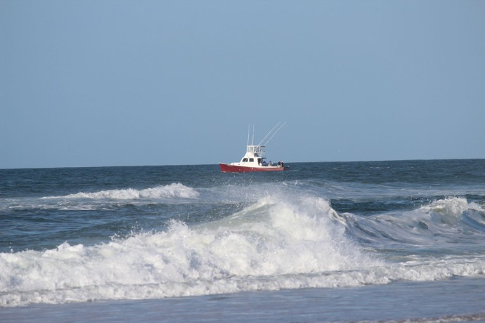 Frisco, fishing boat on water