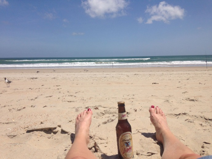 Frisco, Jamie's feet and beer