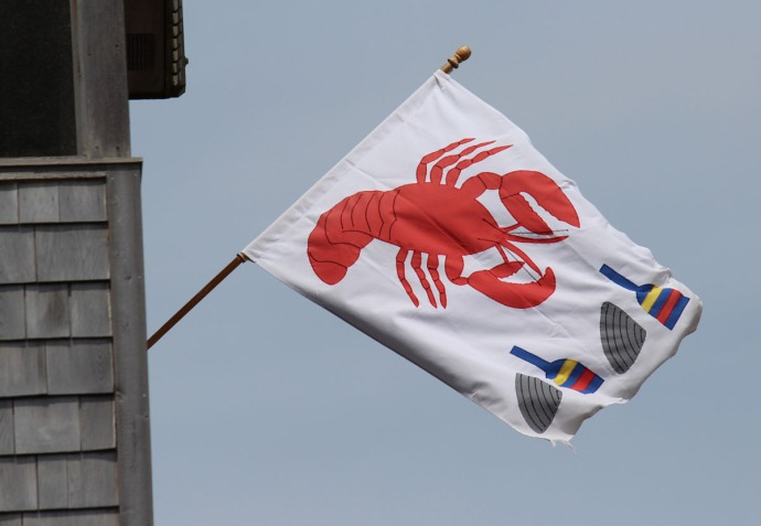 Frisco lobster flag