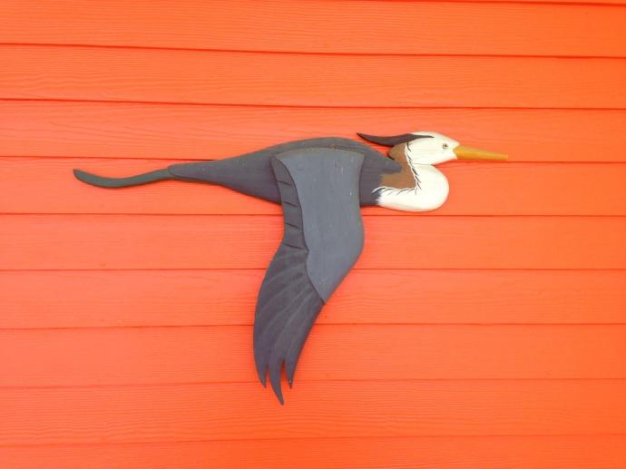 Hatteras Art heron