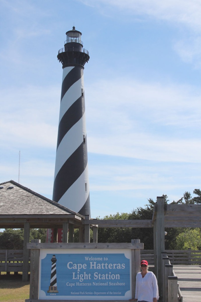 Hatteras lighthouse Jamie