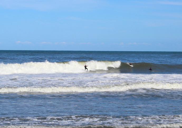 Hatteras surfer