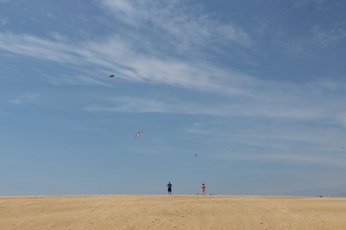 Jockey Ridge kite maneuvers