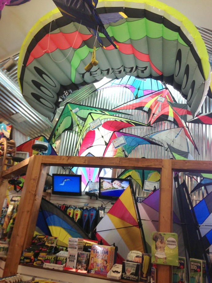 Nags Head Kittyhawk Kites indoor 1