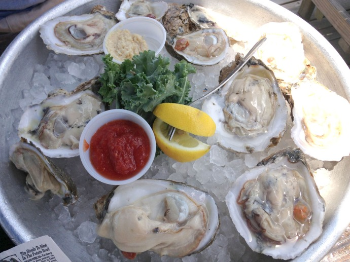 Nags Head, Mulligan's oysters