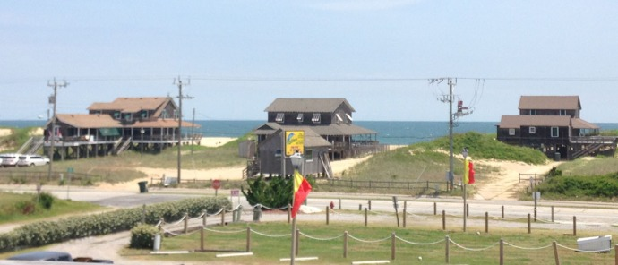 Nags Head, Mulligan's view from deck