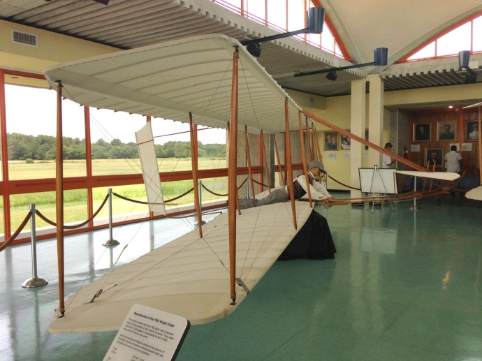 Wright Bros 1902 Hang glider