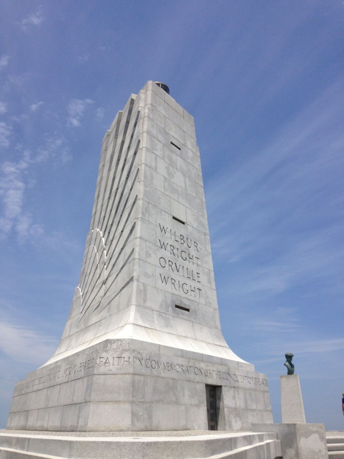 Wright Bros big monument