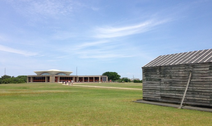 Wright Bros museum and shack