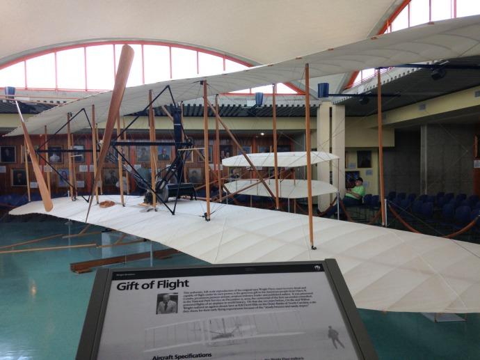 Wright Bros plane 2