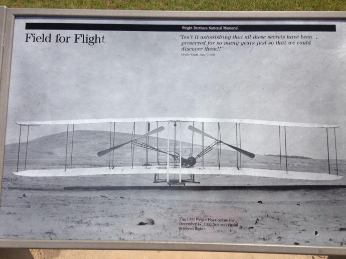 Wright Bros plane pic