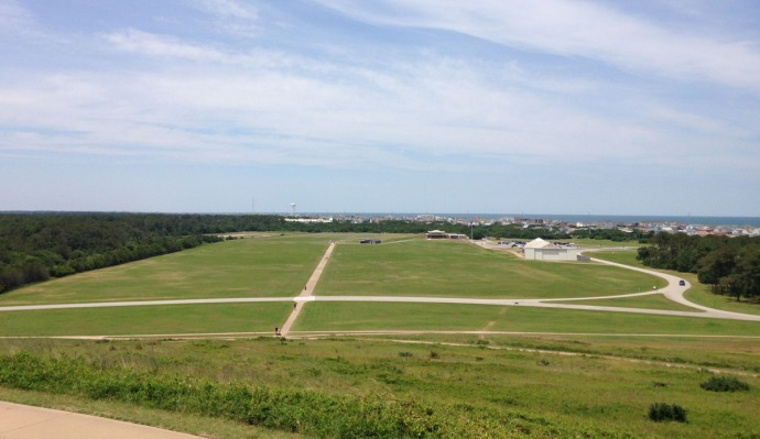 Wright Bros view from obelisk