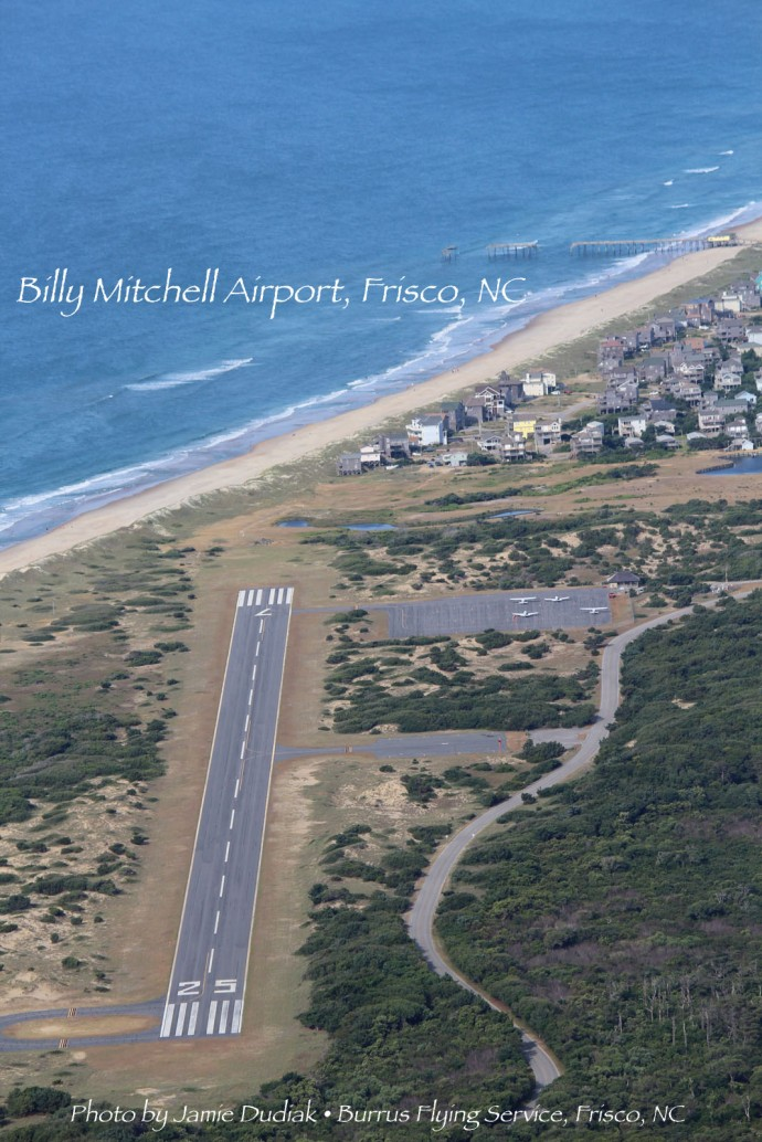 Billy Mitchell Airport vert to water view