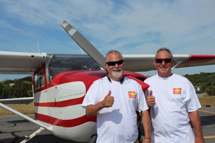Hatteras, Burrus & other pilot