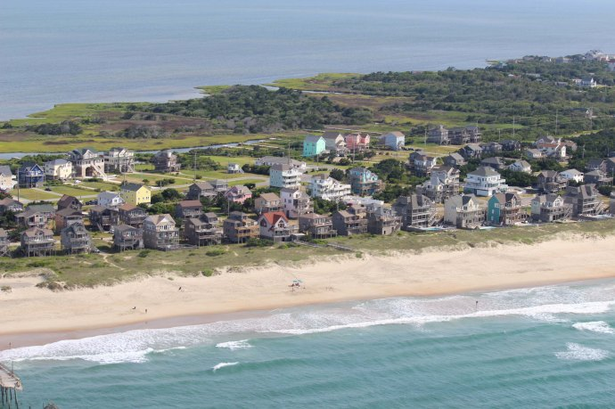 Hatteras Frisco beach houses