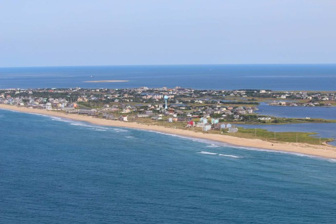 Hatteras island from afar