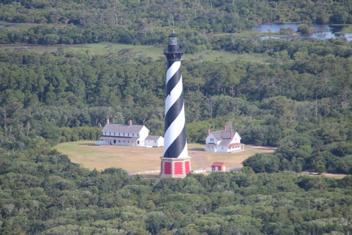 Hatteras lighthouse & keepers houses