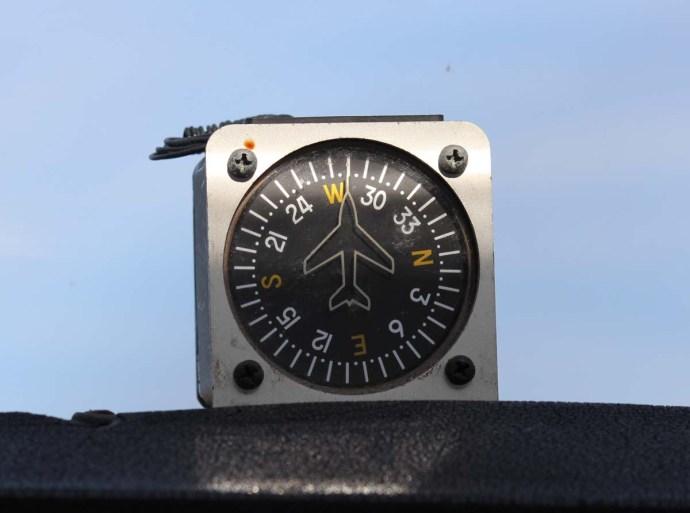 Hatteras plane compass