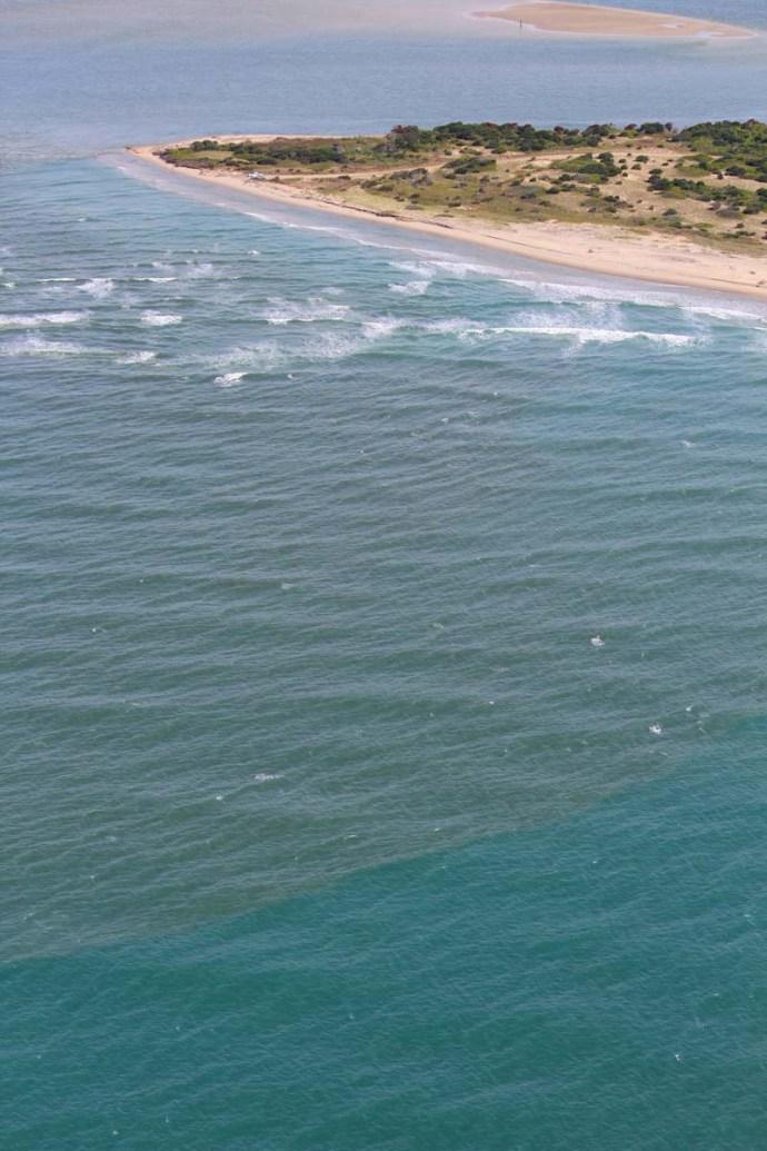 Hatteras water change 1