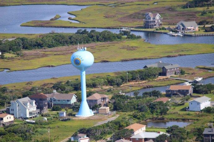 Hatteras water tower hori