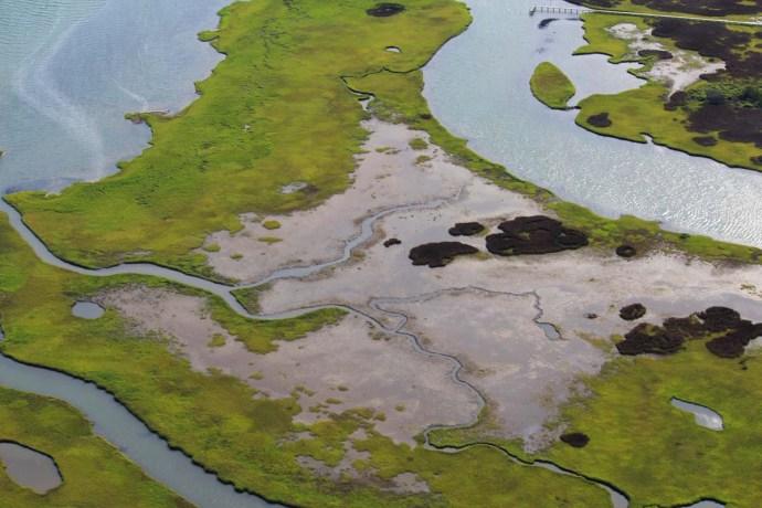 Ocracoke creeks