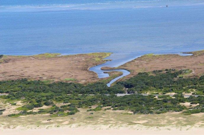 Ocracoke neat waterway