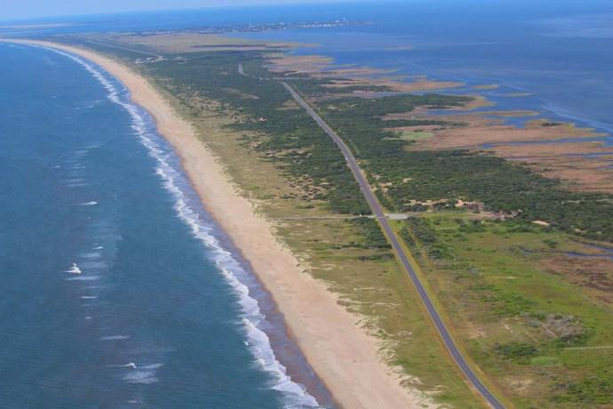 Ocracoke road