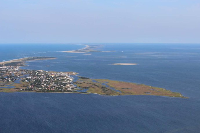 Ocracoke to Hatteras view